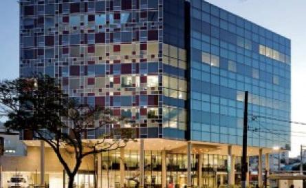 Foto da fachada do Hospital Albert Einstein - Unidade Perdizes